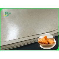 FDA FSC Food Grade Brown Kraft Paper For Paper Tray Street Food Package