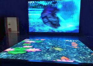 China Indoor Floor Rgb Led Display P4.81 Interactive Dancing Advertising Easily Maintenance on sale