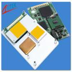 high quality thermal conductive isolating pad TIS808K RoHS  and UL compliance cooling for LED PCB CPU GPU