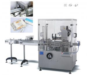 China Condoms / Strip Blister Automatic Cartoning Machine For Tubes Injection on sale