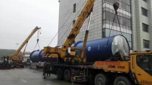 Quality Steam curing 2*31M or customized Sand high pressure autoclaves for hollow Block for sale