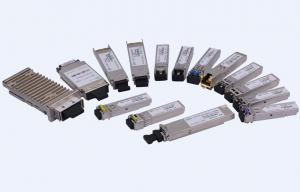 Quality Single Mode SFP+ Optical Fiber Transceiver Up 10Gb/s to 40km Transmission on SMF for sale