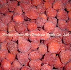 China Frozen Strawberry Best IQF Frozen Food on sale