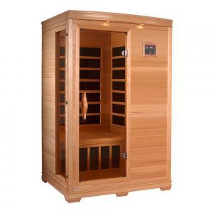 China Health Care Portable Sauna Room Cedar Wood Indoor Sauna Room For Home on sale
