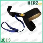 1M Ohms Resistor ESD Safety Strap / Heel ESD Grounding Strap Conductive Rubber Material