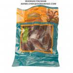 Custom Printing Ready To Eat Food Mussel Vacuum Packaging Bags / Three Side Seal Vacuum Sealer Bags