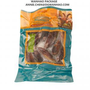 China 注文の印刷のインスタントの食糧ムラサキ貝の真空パック袋/3側面のシールの真空のシーラーは袋に入れます on sale