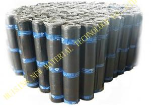 China Flat Self Adhesive Roofing Polyurethane PU Waterproof Membrane Material Black Color on sale