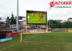 China High Refresh Rate 3840 Hz P6 LED Stadium TV Screen For Baseball Basketball on sale