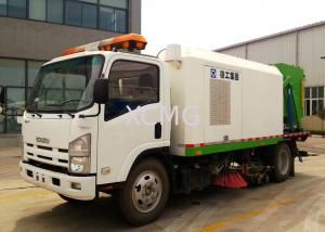 China Tunnel And Bridge Washing Road Sweeper Truck 8tons With Washer on sale