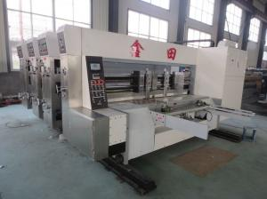 Quality Automatic Corrugated Carton Making Machine Slotter Die Cutter Lead Edge Feeding for sale