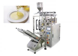 China Low Noise Olive / Oil Pouch Packing Machine With Color Touch Screen on sale