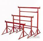 Painted Adjustable Steel Trestles / Industrial  Builders Trestles For Construction
