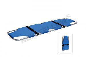 China Portable Lightweight Emergency Folding Stretcher Patient Transfer Stretcher on sale