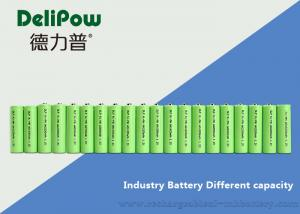 China OEM 2200mAh AA NIMH Rechargeable Battery With Long Cycle Life on sale