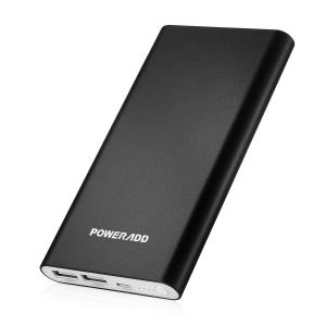 China Poweradd Pilot 4GS 12000mAh USB Power Bank Portable Battery Charger With Lightning Input on sale