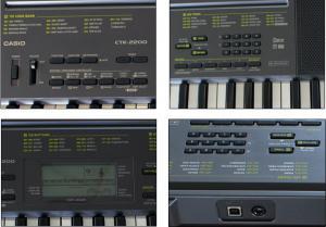 China Casio electronic keyboard 61 key standard basic type CTK-2200 on sale
