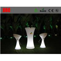 China Led high-round cocktail bar table  ,glow led mobile bar / led bar counter / portable bar counter on sale