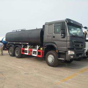 China HW13710 Transmission Fuel Tanker Trucks 6x4 371HP 16 M3 Capacity ZZ1257M5247A on sale