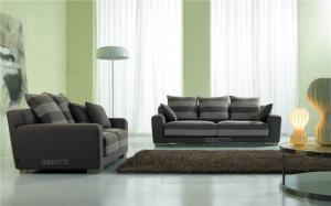 China Kuka Leather Black Modern Fabric Sofas , Lazy Boy Sectional Sofa on sale