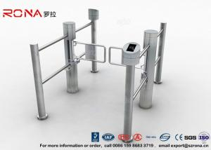 China Club Portable Swing Barrier Gate Mechanism Electronic With Direction Indicator CE Approved on sale