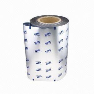 China Pressure Sensitive Aluminum Foil Roll , Plastic Printed PE Bopp Thermal Lamination Film on sale