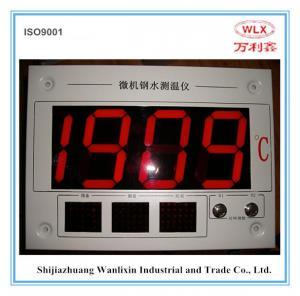 China China origin digital thermometer for molten steel temperature measurement on sale