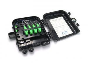 China Black SC LC Fiber Optic Termination Box Rain - Resistant With Lock Function on sale