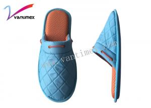 China Customized Antiskid Breathable Mens House Slippers With Cotton Fabric on sale