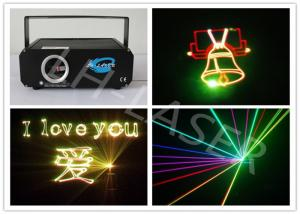 China Mini 1W RGB Full Color Cartoon Laser Light 635 NM Red Christmas Lighting on sale