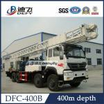 China DFC-400B Sinotruk Truck mounted water well drill rig for sale, Hydraulic Water Well Rotary wholesale