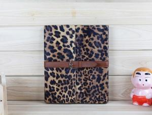 China OEM Fashion Leopard Style Leather New iPad Protective Cases for iPad2 / iPad3 on sale