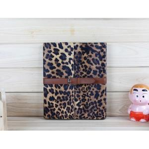 China OEM Fashion Leopard Style Leather New iPad Protective Cases for iPad2 / iPad3 on sale
