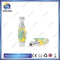 Stainless Steel E Cigarette Drip Tips Various styles 510 Rana Drip Tips