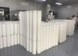 China FRP / Fiberglass Pipe High Flow Filter Cartridge Single Open Ended Pre Filtration For RO System on sale