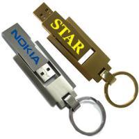 Full metal 360 Degree Rotate USB Flash Drive