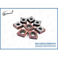 CCMT120408 Tungsten Carbide Turning Inserts with different groove shape