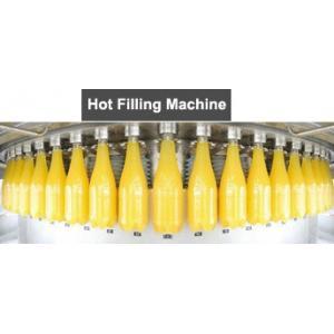 China High Speed beverage processing machine Juice Bottling Filling on sale
