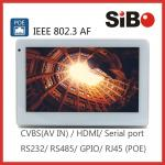 Industrial Controller Wall Mounting 7 Android 6.0.1 OS POE Powered Touch Screen For User Interface