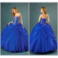 Organza Embroidery Quinceanera Dresses Princess with Pick Ups Flowers