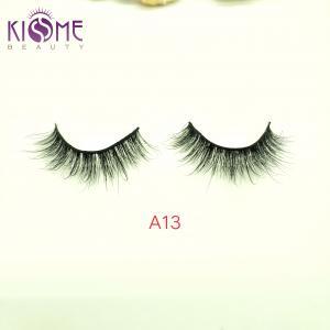 China Curl Luxury Mink Lashes Natural Black Siberian Mink Fur Eyelashes For Bridal on sale