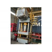 Metal Hydraulic High Speed Press Machine With Working Table / PLC Control