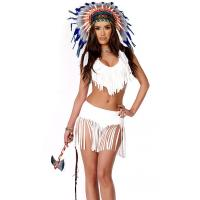 Indian Summer Sexy Native American Costume Wholesale with Size S to XXL Available