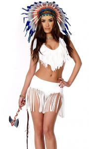 China Indian Summer Sexy Native American Costume Wholesale with Size S to XXL Available on sale