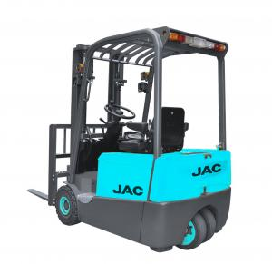 1800 KG Rated Capacity 3 Wheel Electric Forklift Truck CE
