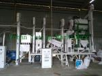 Agriculture Machinery 40 Ton Per Day Automatic Rice Mill Plant