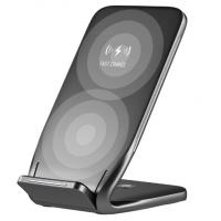 China Qi Wireless Charger For iPhone X 8 10 Samsung Note 8 S8 Plus S7 S6 Phone Fast Wireless Charging 10W Docking Dock Station on sale