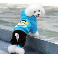 Protective Bichon Frise Dog Hooded Sweatshirts clothes xxx small , Paul Frank pattern