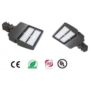 China 100W 13000 Lumen Shoe Box Led Light / IP65 90-277VAC LED Area Light With Meanwell on sale