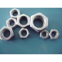 High Accuracy Hot Dipped Galvanized Lock Nuts , Hex Jam Nut Agricultural Machinery Applied